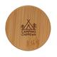 Набор стаканов с двойными стенками и бамбуковой крышкой XD Collection, 250 мл, 2 шт, прозрачный / коричневый - фото № 5