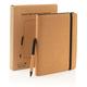 Органайзер с блокнотом и ручкой XD Collection Cork Deluxe, А5, коричневый - фото № 14