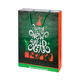 Пакет подарочный, зеленый - фото № 1