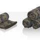 Полотенце для фитнеса Камуфляж, зеленый - фото № 2
