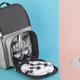 """Рюкзак для пикника """"Кения"""", серый - фото № 2"""