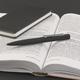 Ручка шариковая металлическая Chili Mercury, soft touch, черная - фото № 5