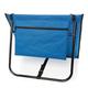 Складной лежак для пляжа, голубой - фото № 2