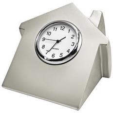 Часы Домик, серый фото