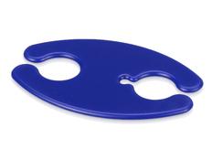 Органайзер для проводов и наушников, синий фото