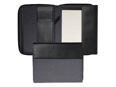 Папка для конференция А4 Advance, черный/ серый фото