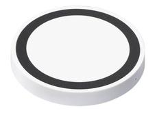 Зарядка беспроводная, белая/ черная фото