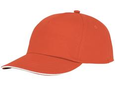 Бейсболка Styx, оранжевая фото