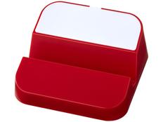 Подставка для телефона и USB хаб 3 в 1 Hopper, белая/ красная фото
