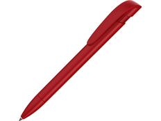 Ручка шариковая пластиковая Uma Yes F, красная фото
