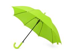 Зонт трость детский полуавтомат Edison, зеленый фото