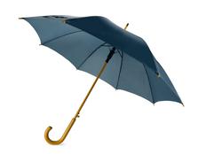 Зонт-трость Радуга, темно-синий фото