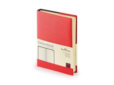 Ежедневник полудатированный Bruno Visconti Porto А5, красный фото