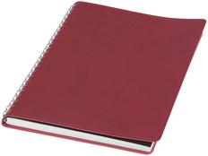 Блокнот в линейку на пружине Brinc А5, 120 листов, бордо фото