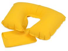 Подушка надувная Сеньос, желтый фото