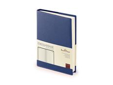 Ежедневник полудатированный Bruno Visconti Porto А5, синий фото