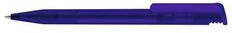 Ручка шариковая пластиковая Senator Super Hit Frosted, фростированная синяя фото
