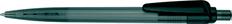 Ручка шариковая пластиковая Senator Sunny, прозрачная черная фото