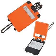 Бирка багажная Чемодан, оранжевый фото