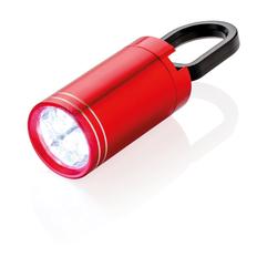 Фонарик LED Pull it, красный фото