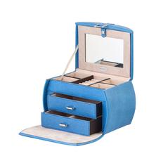 Шкатулка для драгоценностей Capricio, синий фото