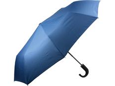 Зонт складной полуавтомат, синий фото
