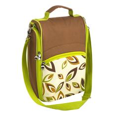 Набор для пикника, белый/ коричневый, зеленый фото