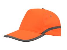 Бейсболка со светоотражателем Neon, оранжевый фото