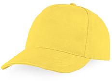 Бейсболка Florida 5 клиньев, желтый фото