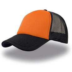 Бейсболка Rapper, оранжевый с черным фото