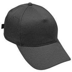 Бейсболка Стандарт 5 клиньев, черный фото