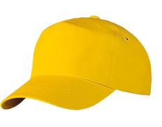 Бейсболка Unit Promo, желтая фото
