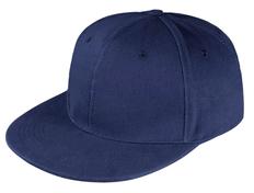 Бейсболка Unit Snapback 6 клиньев, плоский козырек, емно-синяя фото
