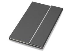 Блокнот А5 Magnetic, тёмно-серый фото