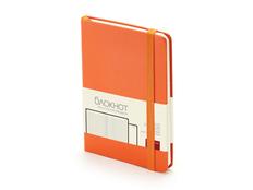 Блокнот А6 Megapolis Journal, оранжевый фото