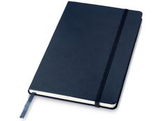 Блокнот в линейку на резинке Journalbooks Juan А5, 80 листов, темно-синий фото