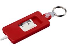 Брелок для проверки протектора шин Kym, красный фото
