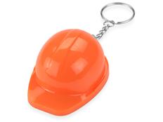 Брелок-открывалка Каска, оранжевая фото