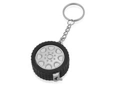 Брелок - рулетка Колесо, черный фото