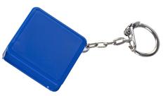 Брелок с рулеткой Square, синий фото