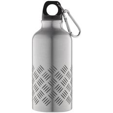 Бутылка для спорта Hard Work, серебряная фото