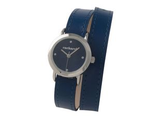 Часы наручные Blossom, тёмно-синие, женские фото