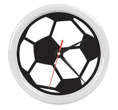 Часы настенные PRINT разборные , белый, D24,5 см, пластик/стекло фото