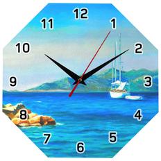 Часы настенные стеклянные Time Diamond фото