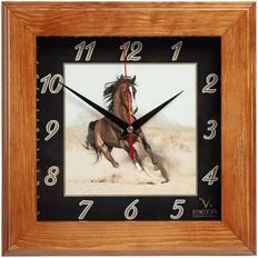 Часы настенные Treenity, орех фото