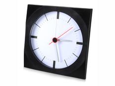 Часы настенные Аптон, черный фото
