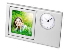 Часы Шербург, серый фото