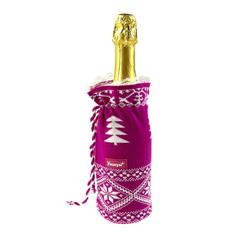 Чехлы на бутылку вязаные фото