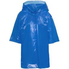Дождевик-плащ с капюшоном детский унисекс Molti BrightWay Kids, синий фото