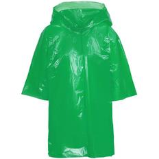 Дождевик-плащ с капюшоном детский унисекс Molti BrightWay Kids, зелёный фото